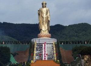 lushan buddha statue