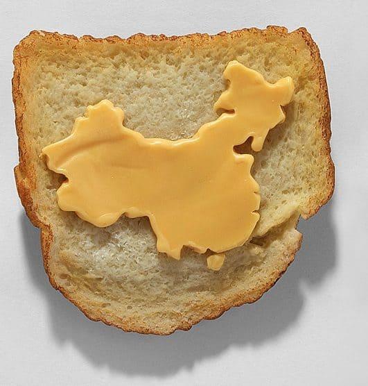 Chinese cheese market