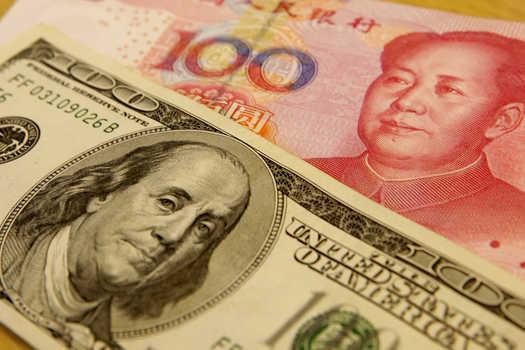 argent chine usa
