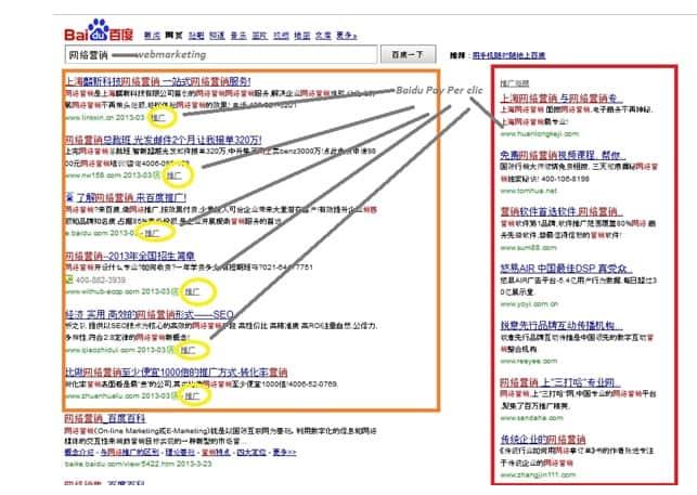 Webmarketing Baidu
