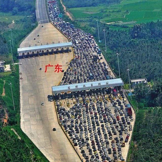 China traffic-jam