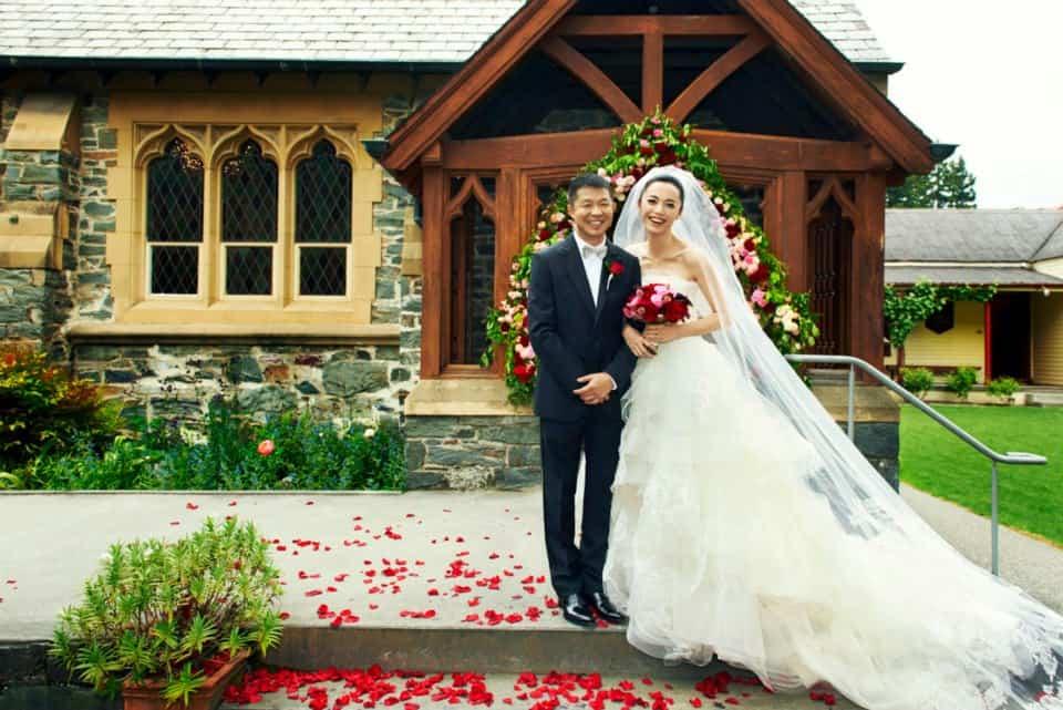 new zealand celebrity wedding