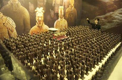 Chocolate Terracotta Army 1