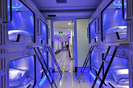 Hotel-capsule-espace-robots-Shenzhen-Chine-5