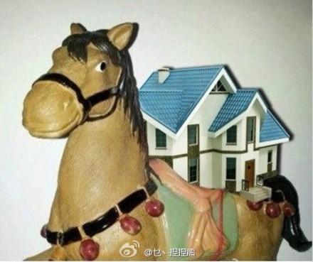 house on pony