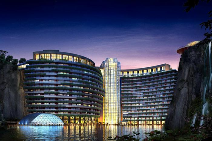 China owns 68% of the hotel projects in the Asia Pacific-area