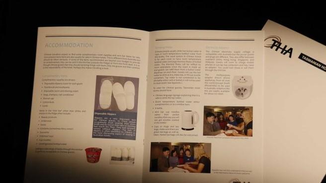 tasmanian pamphlet