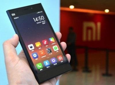 Xiaomi ecommerce chine