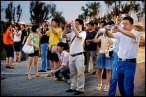 touristes chinois étranger
