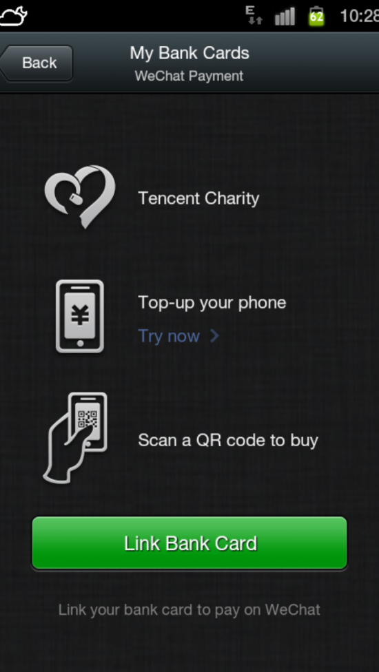 5 new functions for WeChat - Marketing China