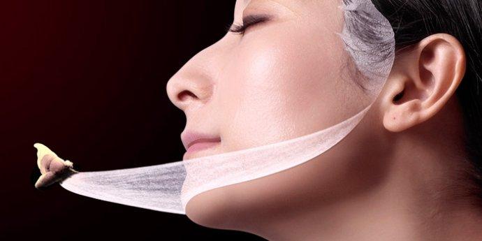 tissu mask