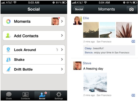WeChat-Moments