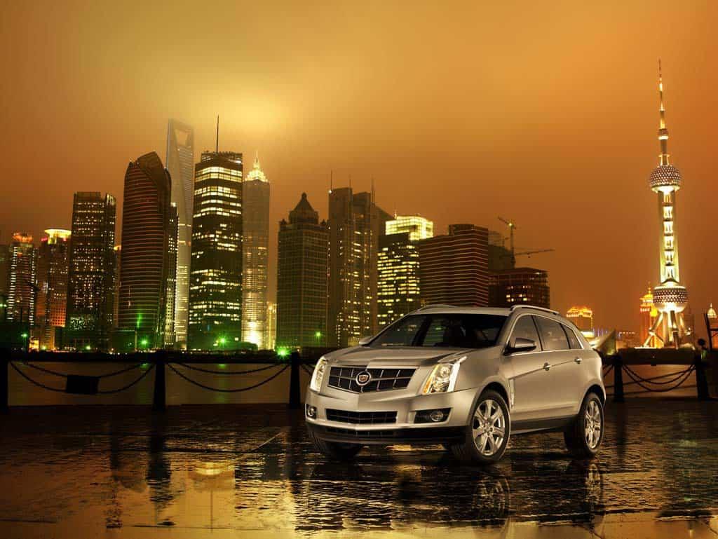 Cadillac SRX 2010. X09CA_SR043MX (China)