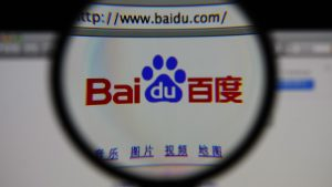Use Baidu for the China Market not Google