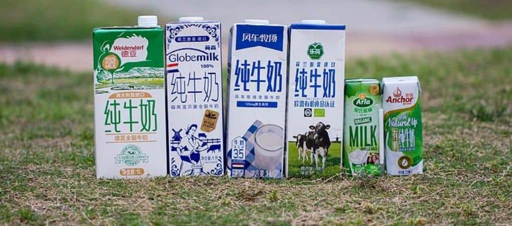The imported milk market in China is still Growing