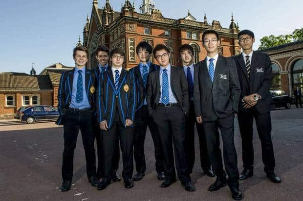 Private schools China
