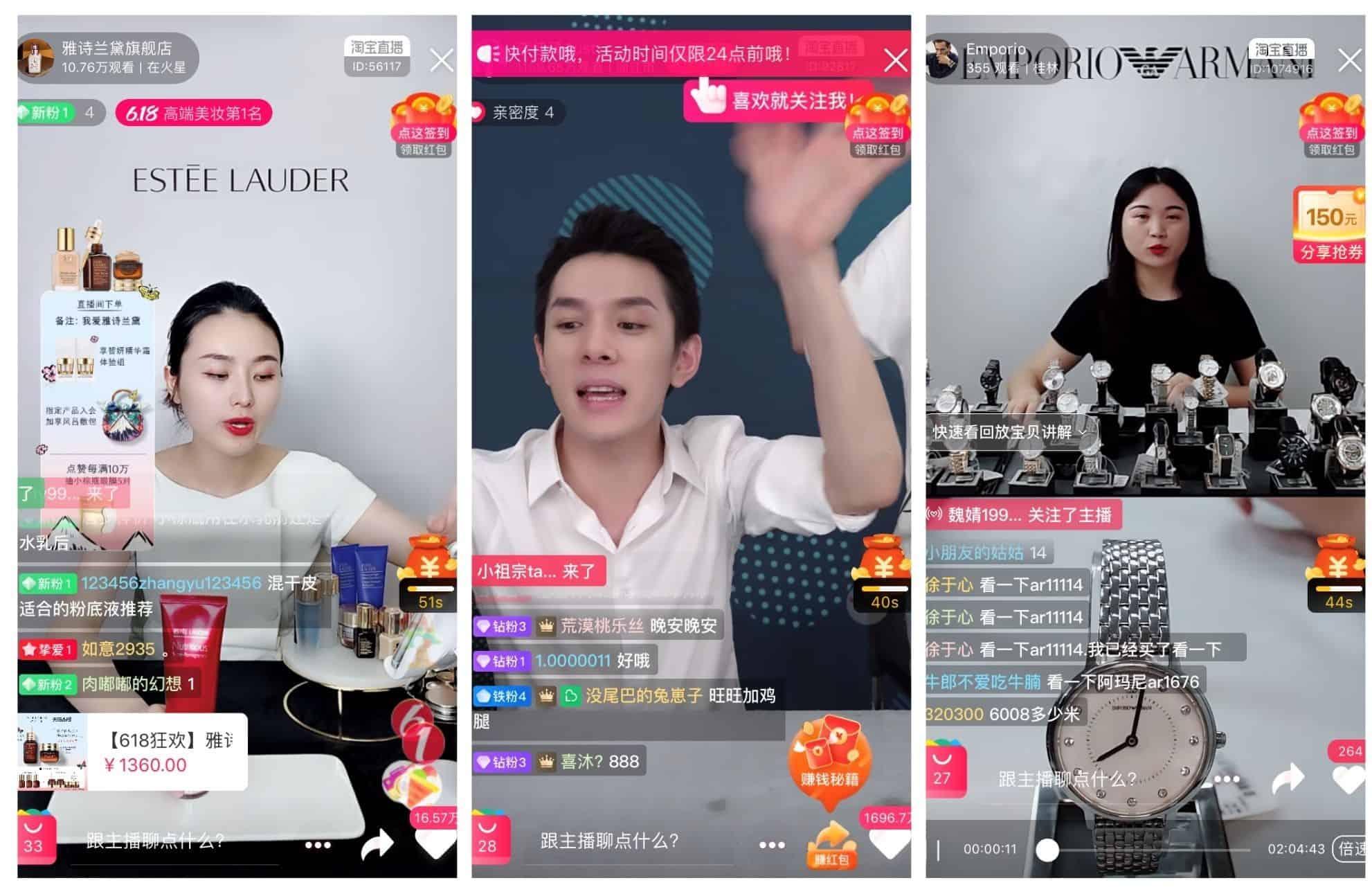 famous chinese kols on Taobao live - ecommerce china