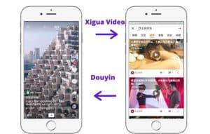 Xigua VideoVS Douyin