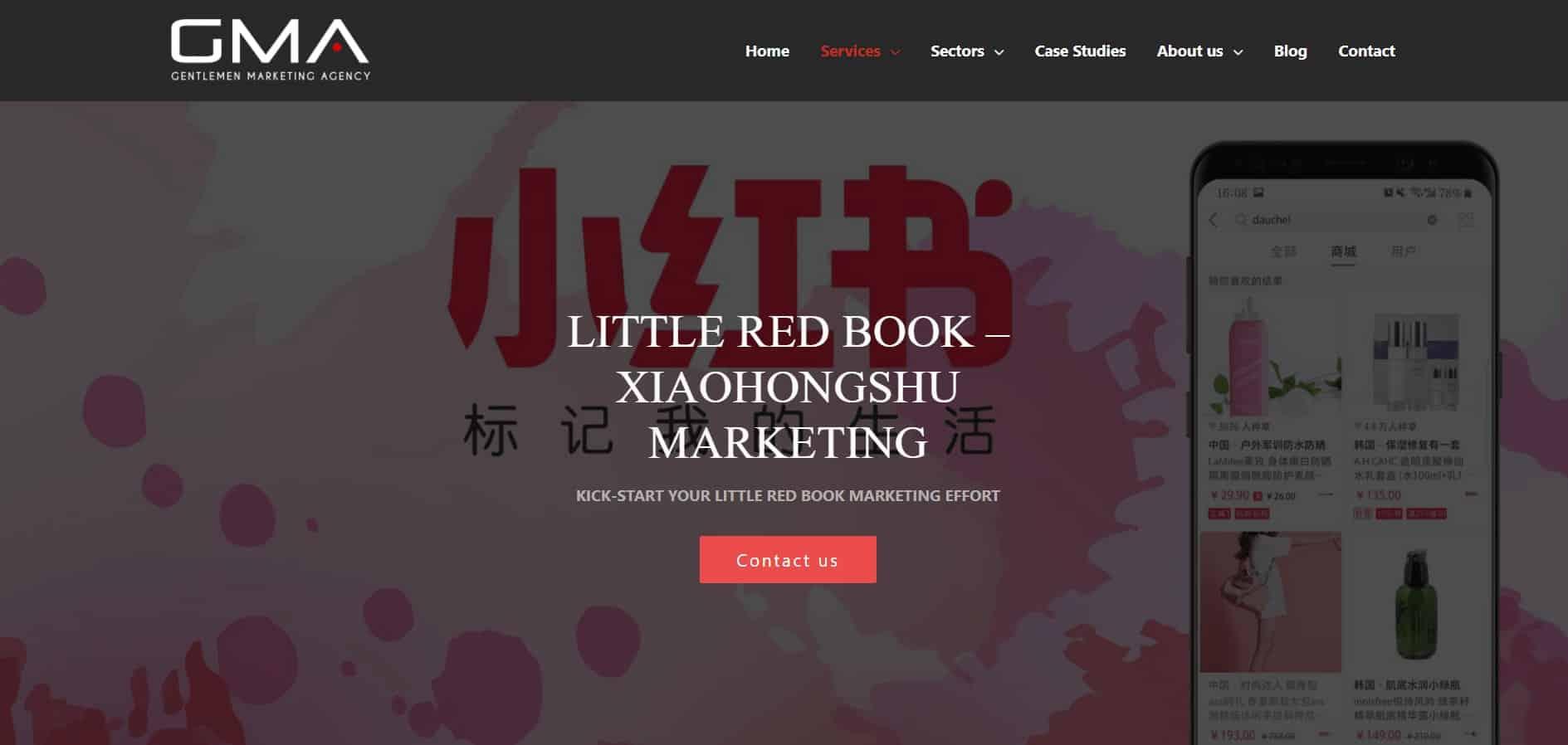 China Social Media - GMA Xiaohongshu Agency