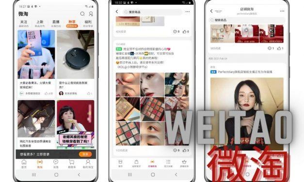 Introduction to Taobao/Tmall Social media platform: Weitao